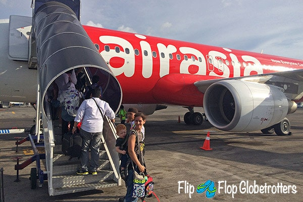 FlipFlopGlobetrotters.com - Blog: tips for flying with infants and toddlers - baby carrier