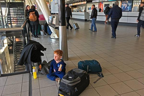 FlipFlopGlobetrotters.com - Blog: City trip Milan - quick bite at Schiphol Airport