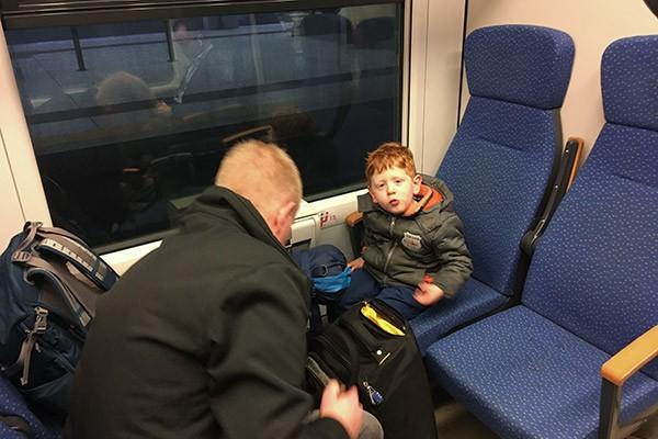 FlipFlopGlobetrotters.com - Blog: City trip Milan - on the Malpensa Express train