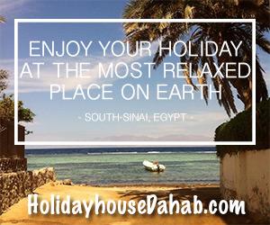 holidayhousedahab.com banner
