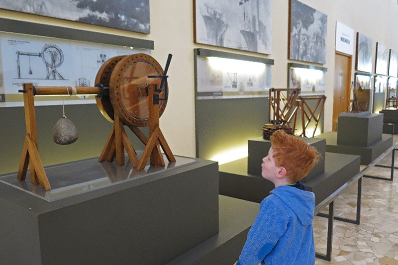 FlipFlopGlobetrotters.com - Blog: 6 top things to do in Milan Italy with kids - Museo Leonardo da Vinci