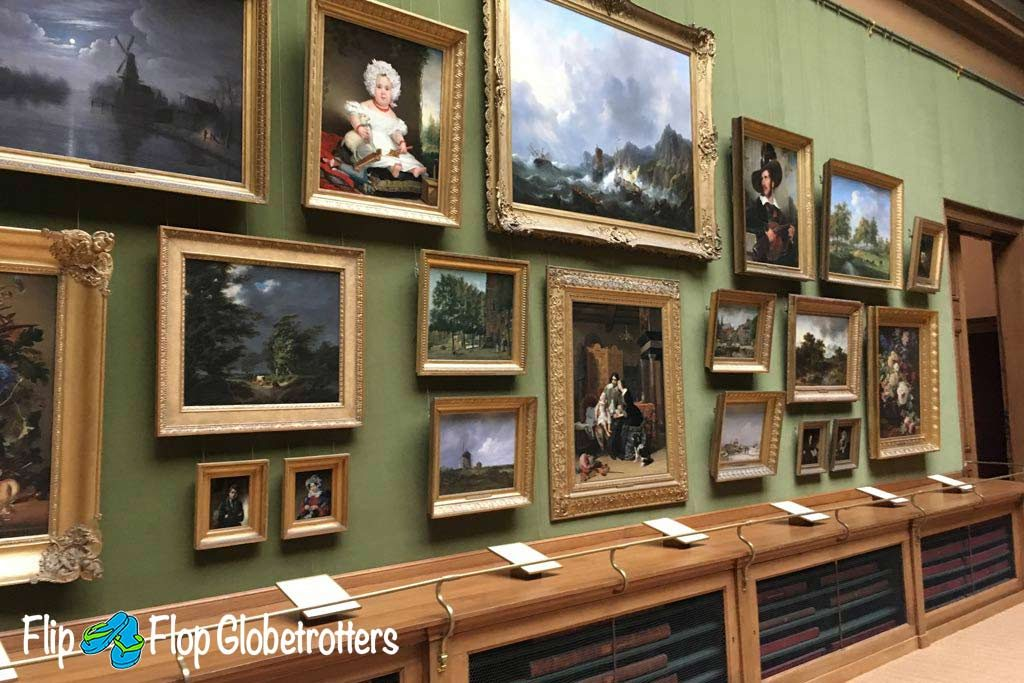 FlipFlopGlobetrotters.com - Blog: Teylers Museum Haarlem - large collection of historic paintings