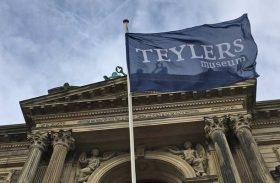 Visiting the Teylers Museum with a toddler