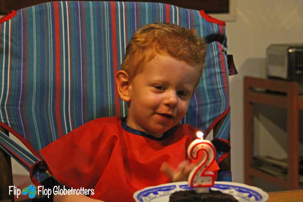 FlipFlopGlobetrotters.com - Blog: reality of travel with an infant - 2nd birthday