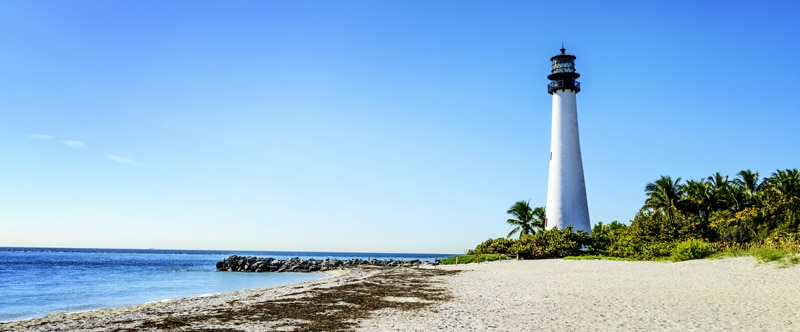 FlipFlopGlobetrotters - things to do in Miami with kids - Key Biscaye Lighthouse