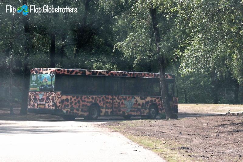 FlipFlopGlobetrotters - Beekse Bergen safari bus