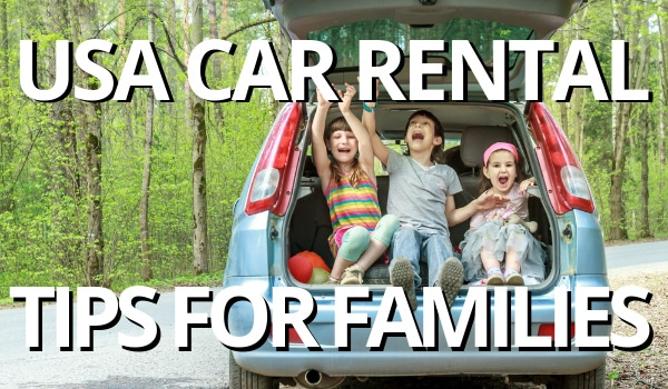 FlipFlopGlobetrotters - USA car rental tips for families. All you need to know about renting a car in the USA.