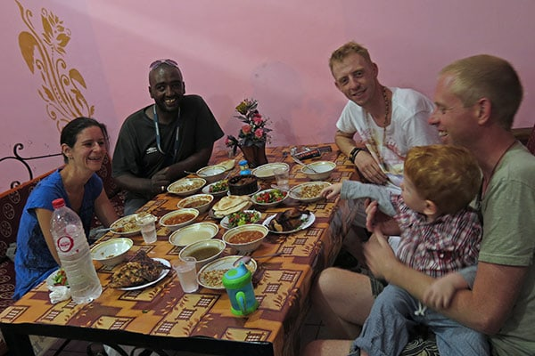 FlipFlopGlobetrotters.com - Best places to eat in Dahab, Egypt - Chicken Grill Restaurant