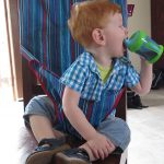 Review: Totseat – foldable travel seat