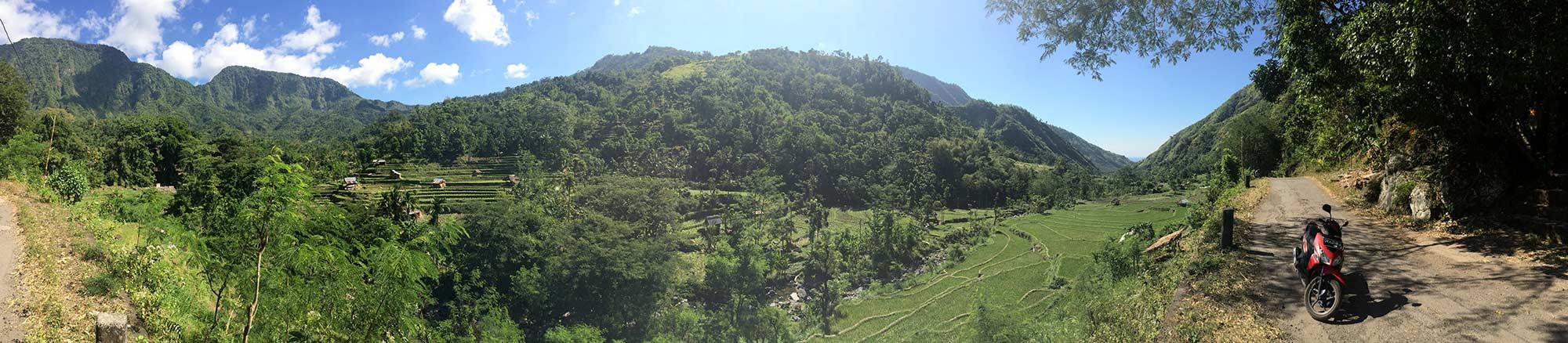 East Bali has amazing views