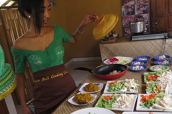 FlipFlopGlobetrotters.com - Ubud cooking class review - the ingredients