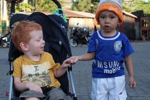 Jace and little boy