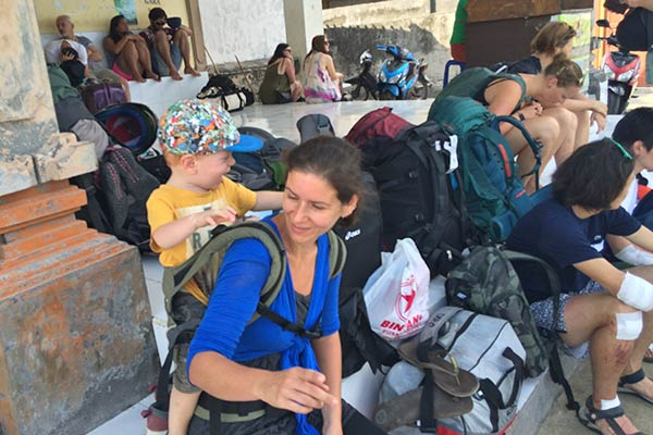 Travel with kids - not as easy as it used to be, but so much fun!