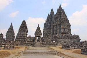Prambanan in Yogyakarta makes you feel very small