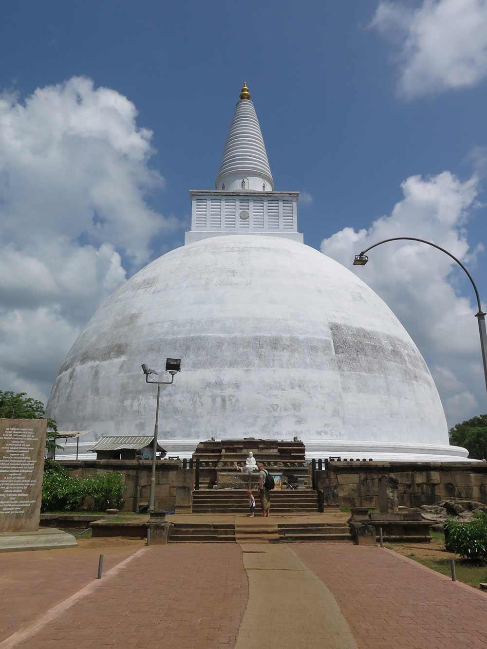 Mirisewetiya Dagoba at Anuradhapura