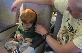 Flying with infants and toddlers – 10 tried and tested tips