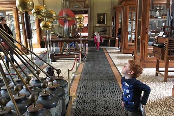 FlipFlopGlobetrotters.com - blog: day trip to Haarlem Netherlands with kids - Teylers Museum