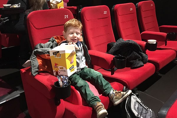 FlipFlopGlobetrotters.com - blog: day trip to Haarlem Netherlands with kids - pathe cinema Haarlem