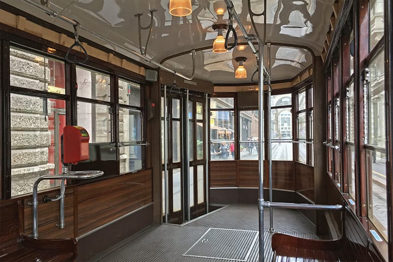 FlipFlopGlobetrotters.com - Blog: 6 top things to do in Milan Italy with kids - Tram Milano
