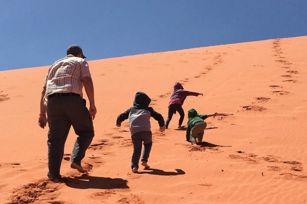 FlipFlopGlobetrotters.com - Blog: Can you still travel with kids - Wadi Rum Jordan with kids