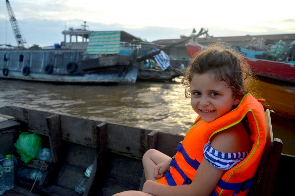 FlipFlopGlobetrotters.com - Blog: Can you still travel with kids - discovering the Mekong Delta