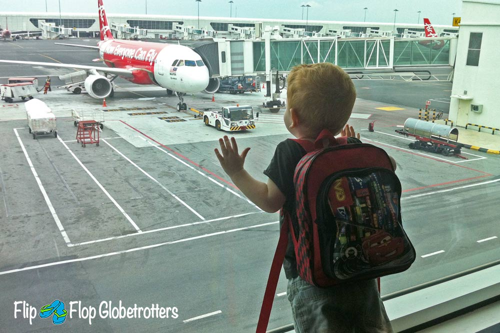 FlipFlopGlobetrotters.com - traveling with kids with coeliac disease - pre-book your airplane meal