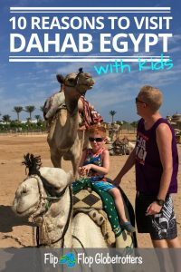 FlipFlopGlobetrotters.com - 10 reasons to visit Dahab Egypt with kids