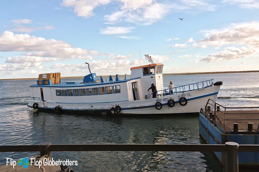 Olhao Armona Island ferry Algarve Ilha da Armona