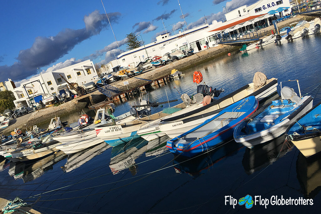 Things to do in Algarve Olhoa fishing boats