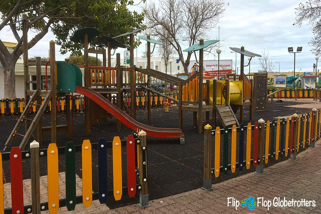 Best things to do in Algarve - Olhao playground promenade