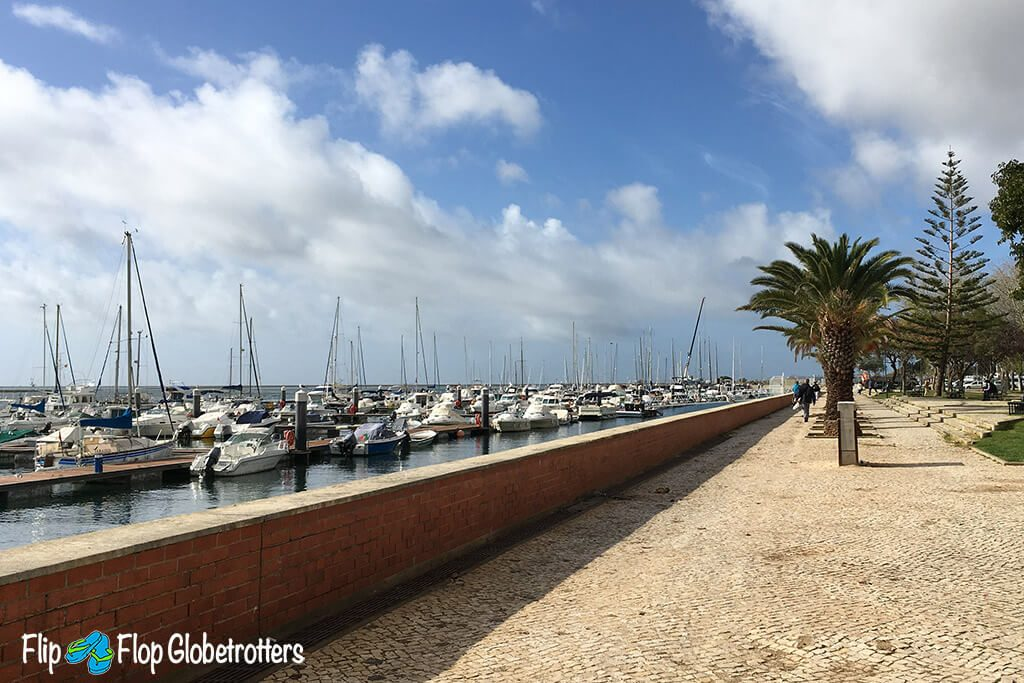 Things to do in Olhao Portugal - promenade
