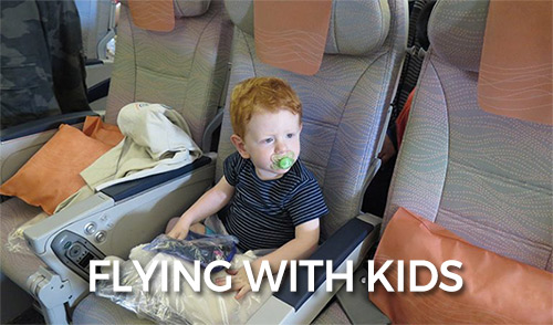 FlipFlopGlobetrotters.com - tips for flying with kids