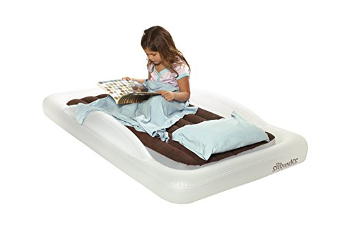128a9f67b45 The award-winning The Shrunks toddler travel bed is many parents  choice  for best toddler travel bed. This inflatable toddler bed weighs only 6.6  pounds