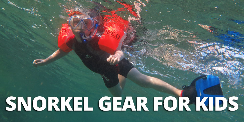 FlipFlopGlobetrotters.com - Ultimate guide for the best snorkel gear for kids