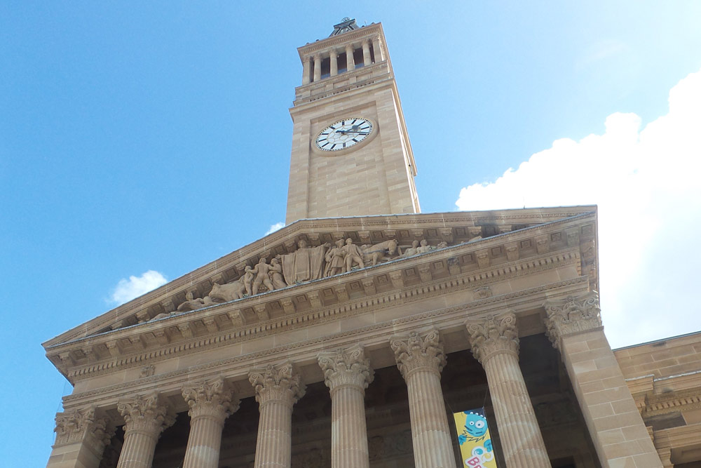FlipFlopGlobetrotters.com - blog: Brisbane with kids - City Hall clock tower
