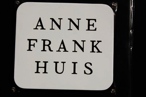 FlipFlopGlobetrotters.com - Things to do in Amsterdam with kids - Anne Frank House sign