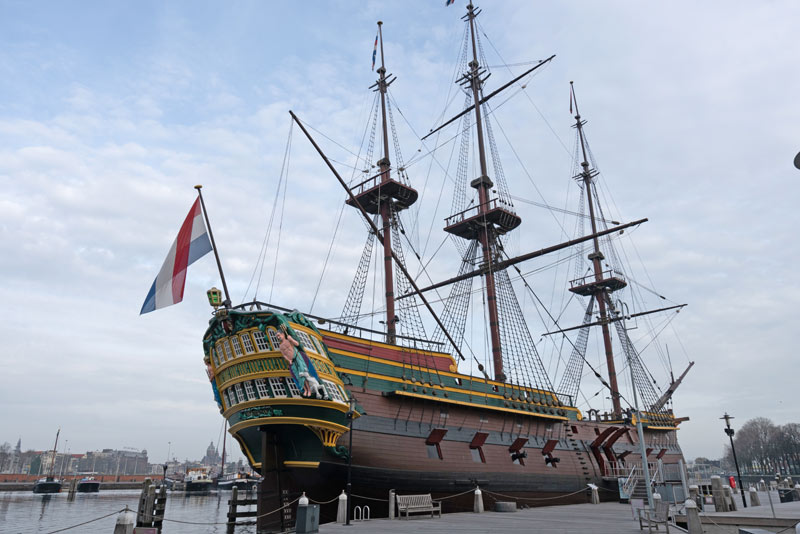 FlipFlopGlobetrotters.com - Things to do in Amsterdam with kids - Maritime Museum Amsterdam - the Batavia