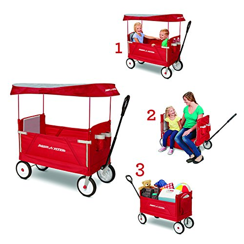 Tuin en terras Easily Stows For Storage Outdoor New Best Camping Hikin Ozark Trail Fold-A-Cart