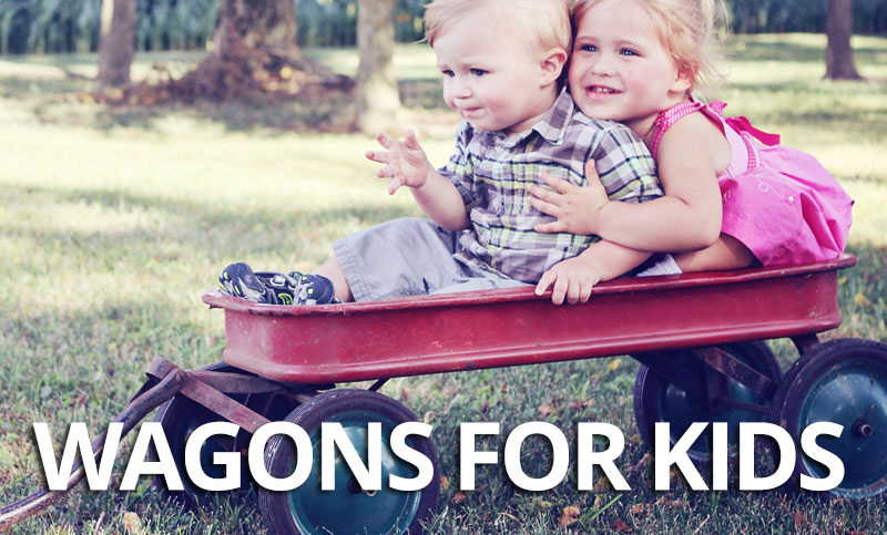 FlipFlopGlobetrotters.com - What's the best wagon for kids? Detailed guide to buying the best kids wagon