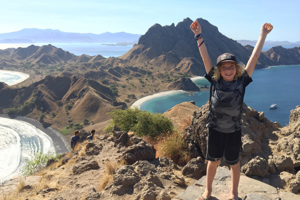 FlipFlopGlobetrotters - best family holiday destinations in Asia - Komodo Indonesia