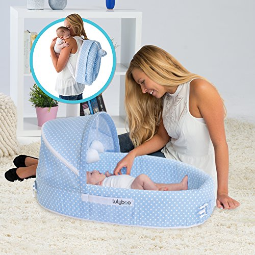 Top Bassinet Portable Sleeper choice: Lulyboo Baby Lounge to Go