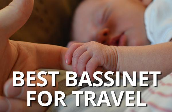 FlipFlopGlobetrotters - Best bassinet for travel - baby sleeping
