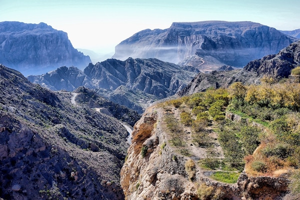 FlipFlopGlobetrotters.com - Best places to visit in the Middle East with kids - Jebel Akhdar, Oman