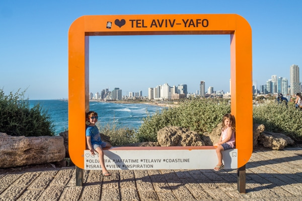 FlipFlopGlobetrotters.com - Best places to visit in the Middle East with kids - Tel Aviv Israel with kids