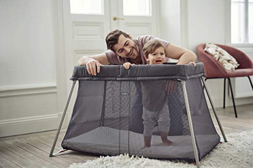 best infant travel bed baby bjorn travel crib light doubles as playard