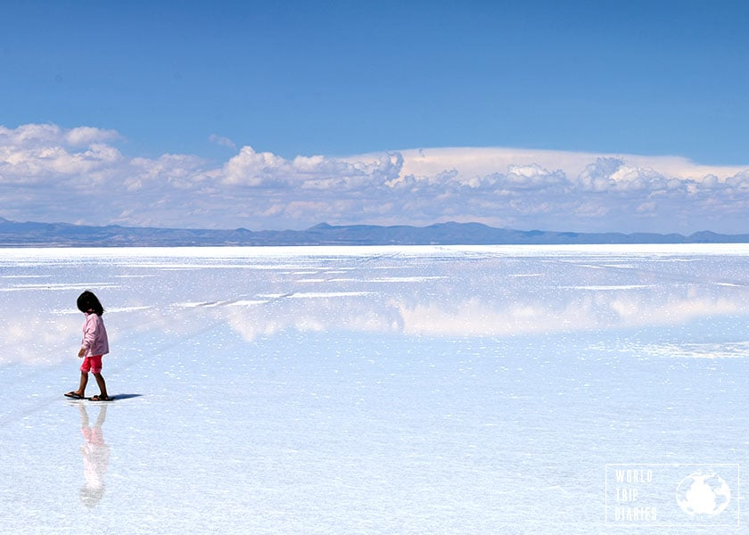 FlipFlopGlobetrotters - Best of Central and South America with kids - Salt Flats Bolivia with kids
