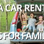 USA car rental tips for families