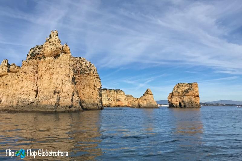 Algarve Portugal - Ponta da Piedade boat trip Lagos