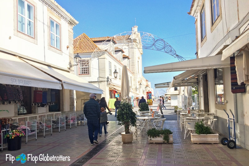 Vila Real de Santo Antonio street image - Things to do in the Algarve with kids