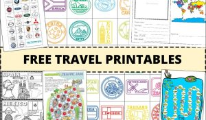 Best free travel printables for kids